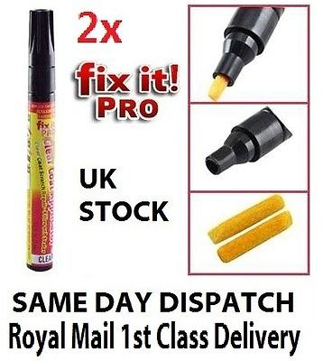 2 x FIX IT PRO SCRATCH REMOVER PEN