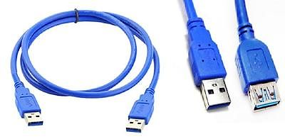5Gbps SuperSpeed USB 3.0 Data Sync & Transfer Extension Cable 1.5M