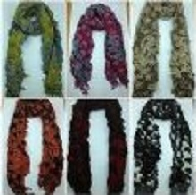 Classic Thick Winter Warmer Bubble Scarf 10 Colors