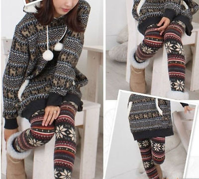 Colorful Soft Knitted Patterned Casual/Fashion Comfortable Leggings