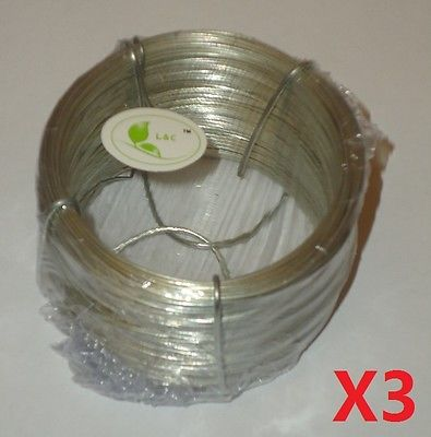 Garden 50M Galvanized Iron Wire