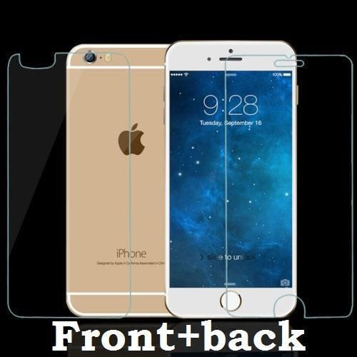 GENUINE FRONT & BACK SCREEN PROTECTOR TEMPERED GLASS FOR APPLE IPHONE 6S PLUS