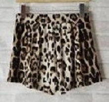 Leopard Animal Print Loose Fit Casual Shorts Hot Pants Celebrity Style