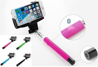 Monopod Selfie Stick Telescopic Bluetooth Wireless Remote Mobile Phone holder