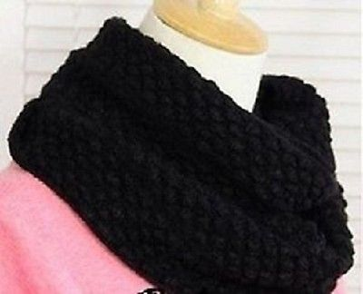 New Bubble Corn Dot Knitting Wool Circle Scarf  Christmas Gift