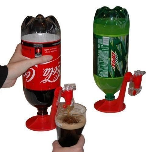 Soda Dispense Gadget Coke Party Club Drinking Fizz Saver Dispenser Water Tool