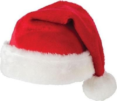 Velvet Father Christmas Hats XMAS Santa Party Festive Family Hats Gift Wholesale
