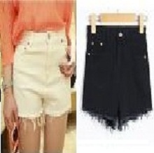 Vintage High Waisted Women Girl Casual Shorts Hot Denim Pants Stretch Jeans
